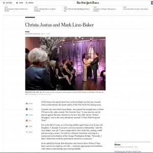 Christa & Mark - The New York Times