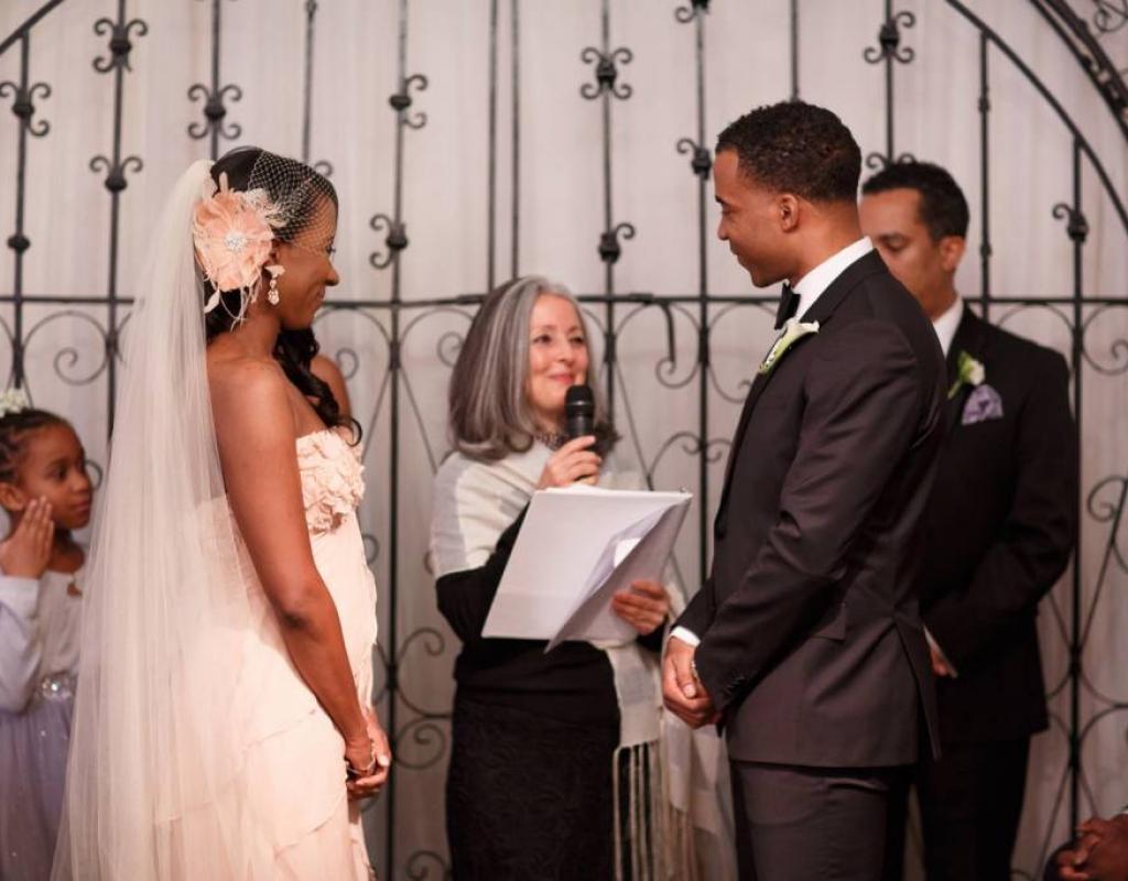 Jomo and Tinika Wedding